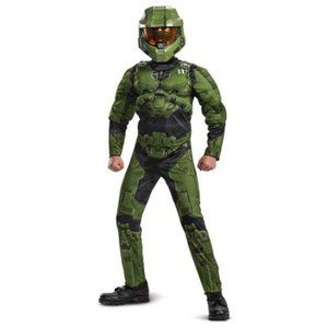 Deluxe Halo Master Chief Costume Jumpsuit